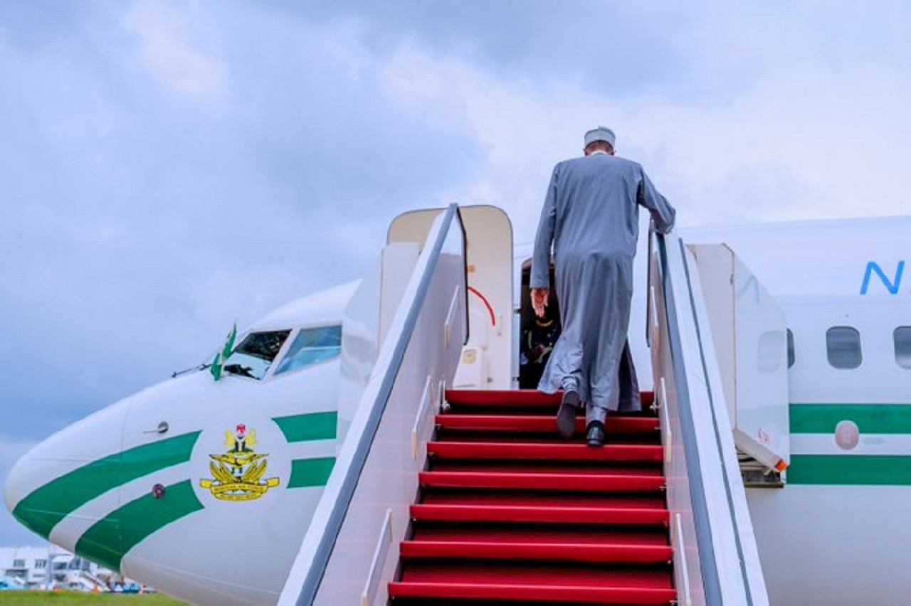 buhari-to-embark-on-private-visit-to-london-after-economic-forum-in-saudi-arabia
