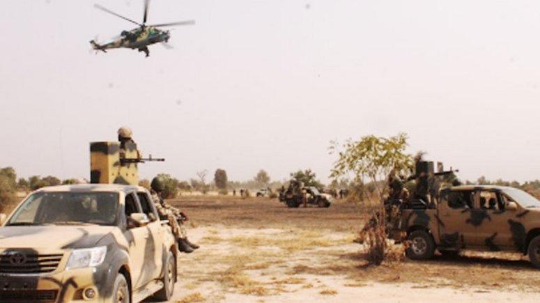 military-aircraft-destroys-terrorists-logistics-base-kills-boko-haram-fighters-in-borno